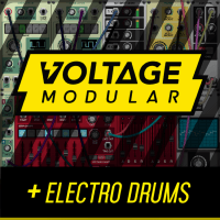 Cherry Audio Voltage Modular Core + Electro Drums (Serial Download)