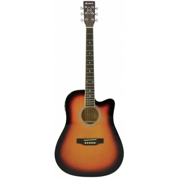 Chord CW26CE-SB Electro Western Guitar