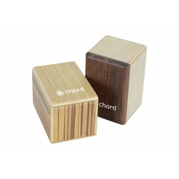 Chord Mini Cajon Shakers - Pair