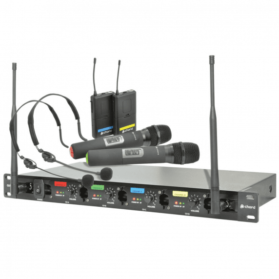 chord qu4 c quad uhf neck headset wireless microphone system. Black Bedroom Furniture Sets. Home Design Ideas
