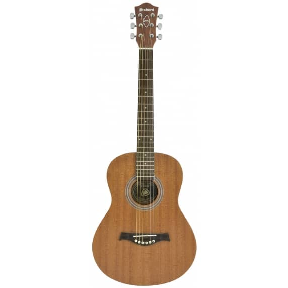 Chord Sapele Compact Acoustic Guitar, Western Style