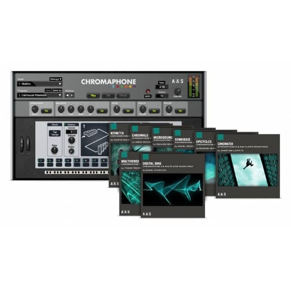 Chromaphone 2 and Packs Bundle (Serial Download)