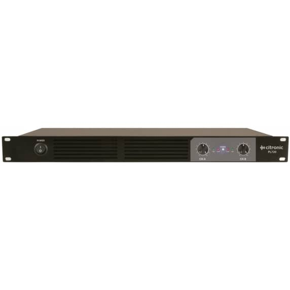 Citronic PL720 2 x 360W PA Power Amplifier, Class-D