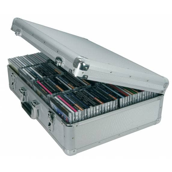 Citronic Portable CD Flight Case for up to 120 CDs