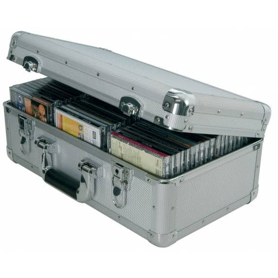 Citronic Portable CD Flight Case for up to 60 CDs