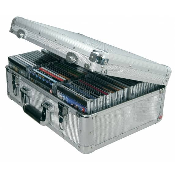 Citronic Portable CD Flight Case for up to 80 CDs