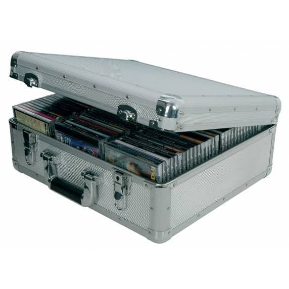 Citronic Portable CD Flight Case for up to 96 CDs