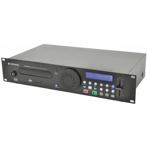 Citronic Rack Mountable CD/USB & SD Player