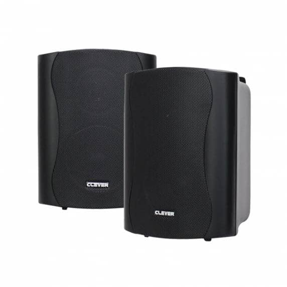 Clever Acoustics BGS 25T 100V Black Wall Speakers (Pair)
