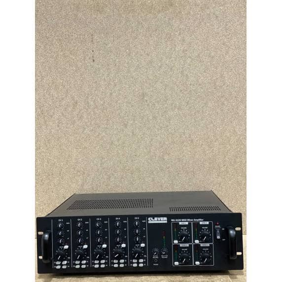 Clever Acoustics MA 4120 480W 4-Zone Mixer Amplifier (B-Stock)