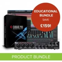Steinberg Cubase Pro 10 + UR44 Interface - Education Bundle