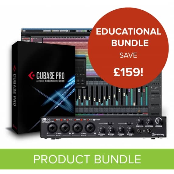 Cubase Pro 9.5 + UR44 Interface - Education Bundle