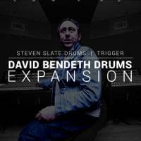 Steven Slate Drums David Bendeth Expansion for TRIGGER 2 (Serial Download)