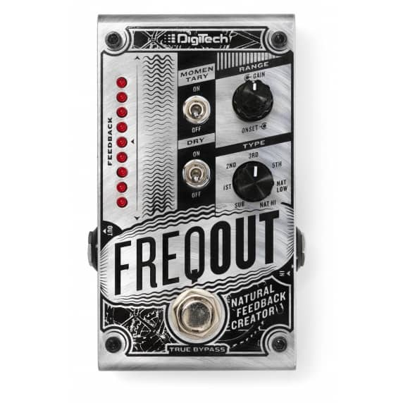 DigiTech FreqOut - Natural Feedback Creator Pedal