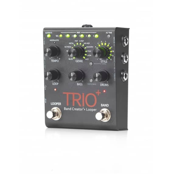 DigiTech Trio Plus (+) - Band Creator and Looper Pedal