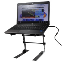 Pulse DJ Laptop Stand - DJ, PA & Disco Height & Width Adjustable