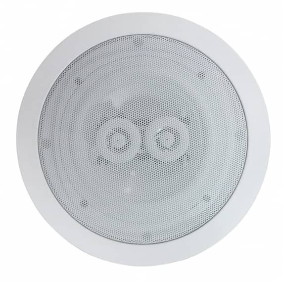 E-audio 120w Ceiling Speaker with Dual Offset Tweeters