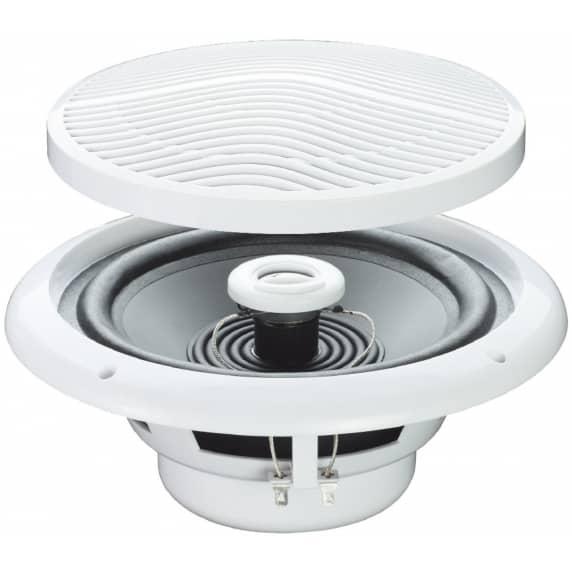 """E-Audio 5"""" 80W Moisture Resistant Ceiling Speakers, 4 Ohm (Pair)"""