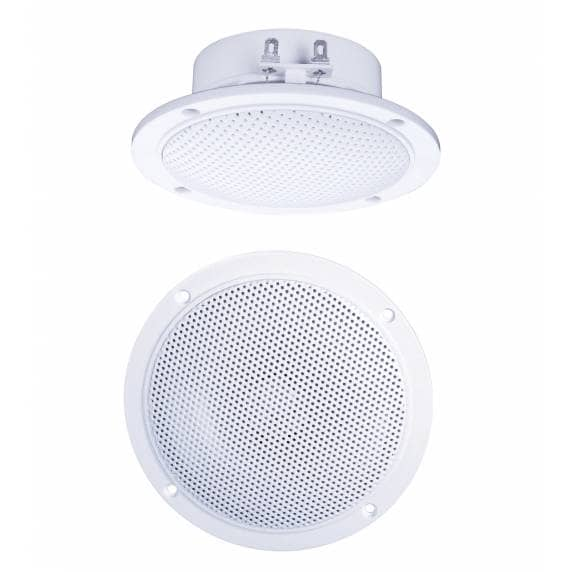 "E-Audio B300A 4"" Moisture Resistant Ceiling Speakers, 60W (PAIR)"