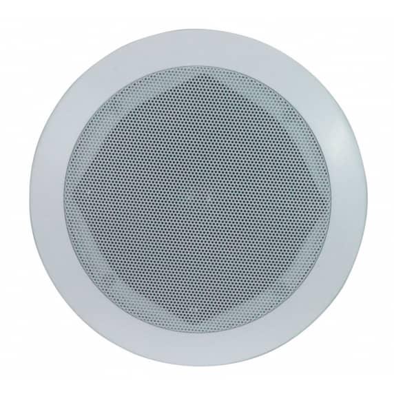 "E-Audio B409A 5.25"" 80W White Ceiling Speaker"
