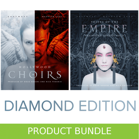 EastWest HollyWood Choirs + Voices Of The Empire Diamond Bundle (Serial Download)