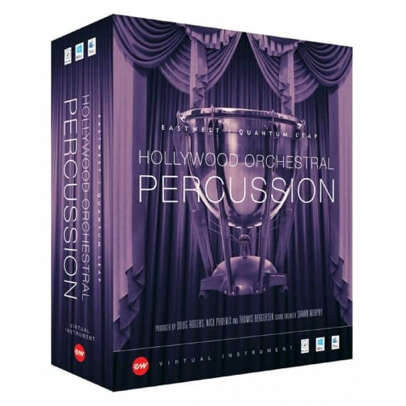Eastwest Hollywood Orchestral Percussion GOLD (Serial Download)