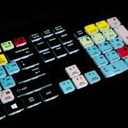 Editors Keys Backlit PC Keyboard - Shortcut Keyboard For Pro Tools