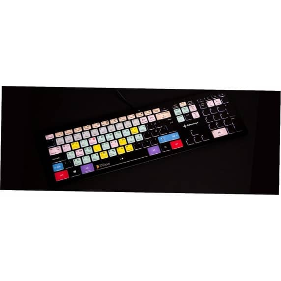 Editors Keys Backlit PC/Mac Keyboard - Fruity Loops Shortcut Keyboard