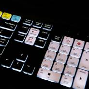 Editors Keys Backlit PC/Mac Keyboard - Shortcut Keyboard For Cubase