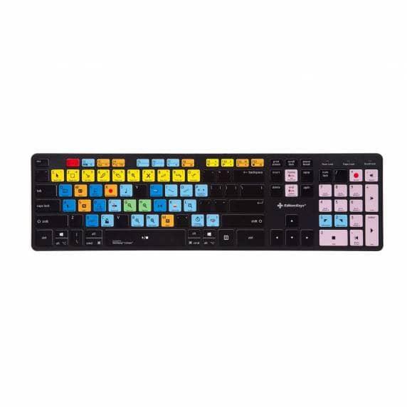 Editors Keys | Cubase Slimline Wireless Shortcut Keyboard (PC)