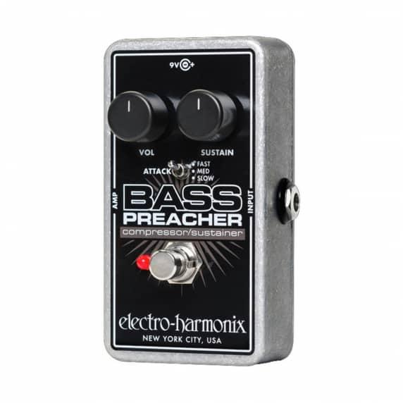 Electro-Harmonix Bass Preacher – Compressor/Sustainer Pedal