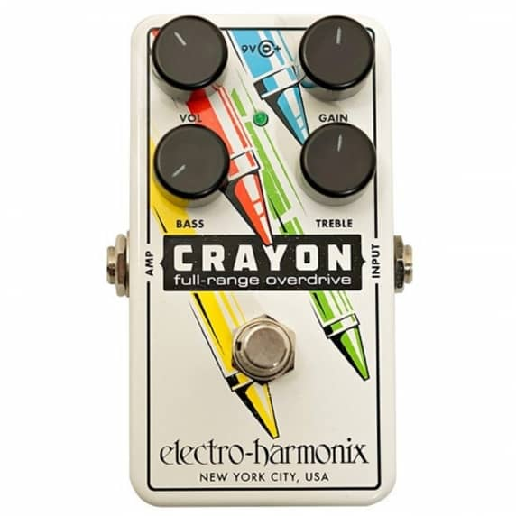 Electro-Harmonix Crayon 76 Overdrive Guitar Pedal