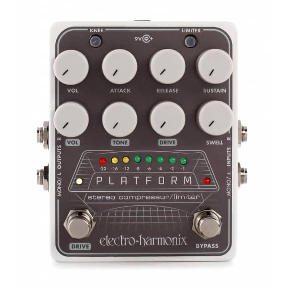 electro harmonix platform stereo compressor guitar pedal electro harmonix from inta audio uk. Black Bedroom Furniture Sets. Home Design Ideas