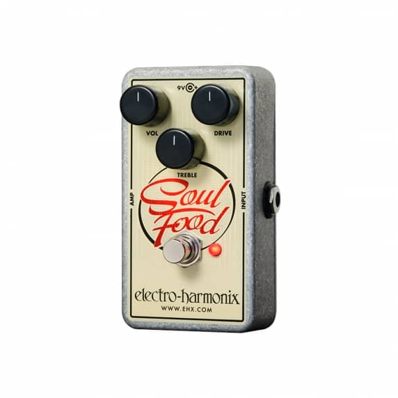 Electro-Harmonix Soul Food – Transparent Overdrive Pedal - B Stock
