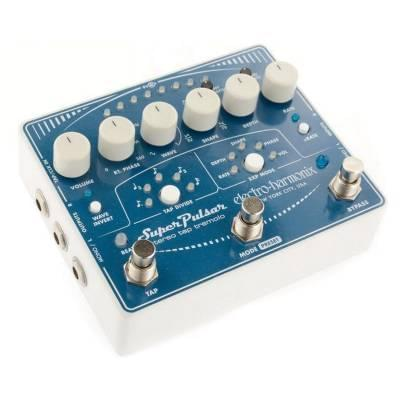electro harmonix super pulsar stereo tap tremolo pedal electro harmonix from inta audio uk. Black Bedroom Furniture Sets. Home Design Ideas
