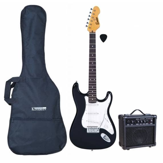 Encore Electric Guitar Starter Kit (Black)