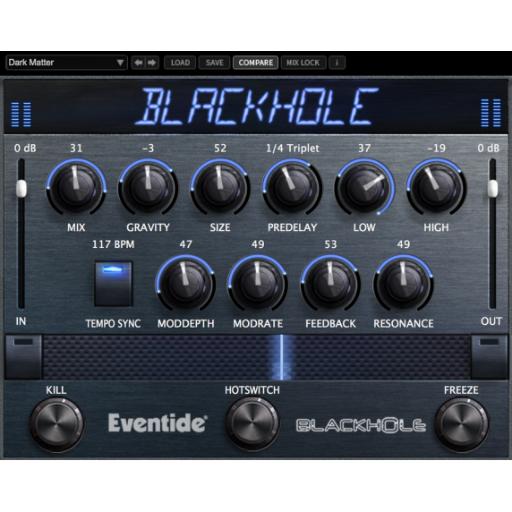 Eventide Blackhole Reverb Plug-In (Serial Download)