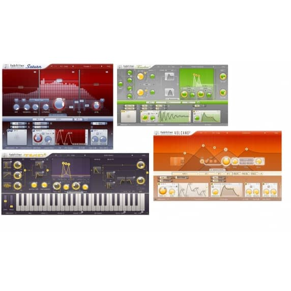 FabFilter Creative Bundle (Serial Download)