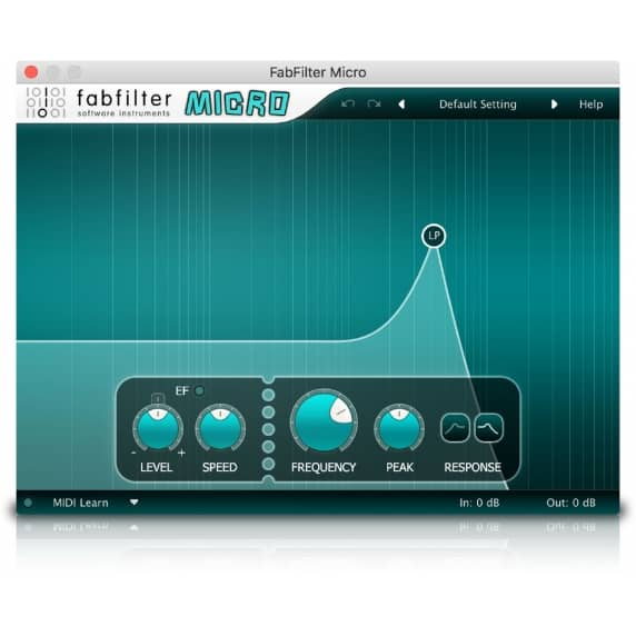 FabFilter Micro - Analogue Filter (Serial Download)