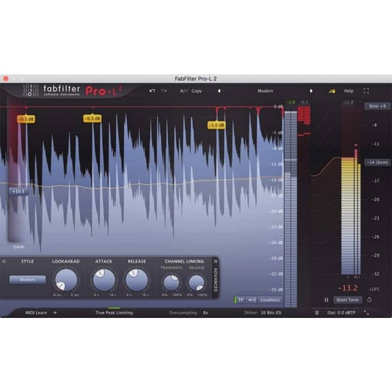 FabFilter Pro-L2 Limiter (Serial Download)