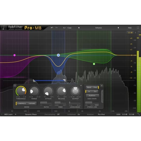 FabFilter Pro-MB - Multi-band Compressor (Serial Download)