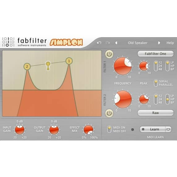 FabFilter Simplon - Two-Pole Filter (Serial Download)