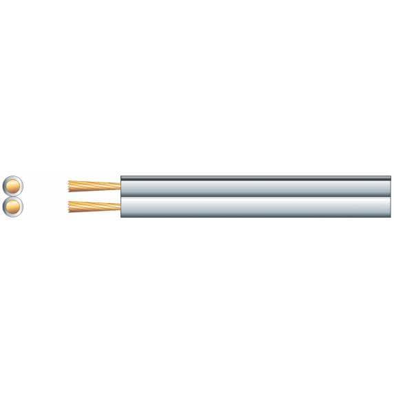 Figure 8 Loudspeaker Cable (10m), 2.5amp (80W Max.), White