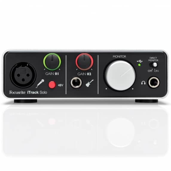 Focsurite iTrack Solo Lightning USB Audio Interface