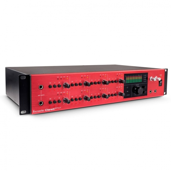 Focusrite Clarett 8Pre X Thunderbolt Audio Interface