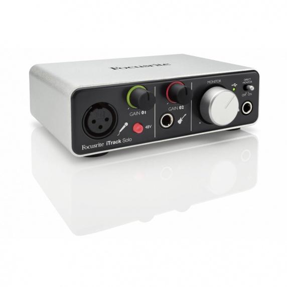 focusrite itrack solo ipad usb audio interface focusrite from inta audio uk. Black Bedroom Furniture Sets. Home Design Ideas
