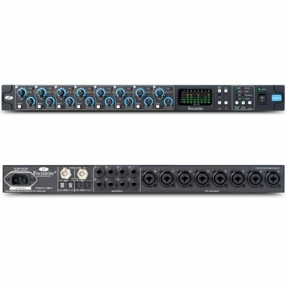 Focusrite Octopre MKII Dynamic 8 Channel Preamp