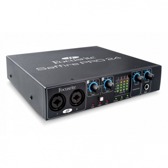 Focusrite Saffire Pro 24 Firewire / Thunderbolt Audio Interface