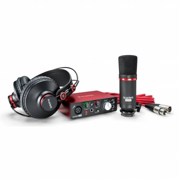 Focusrite Scarlett Solo [2nd Gen] Studio Pack