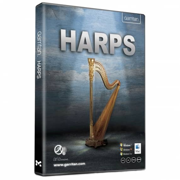 Garritan Harps Virtual Instrument (Serial Download)